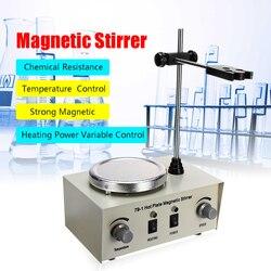 79-1 110/220V 250W 1000ml Hot Plate Magnetic Stirrer Lab Heating Dual Control Mixer US/AU/EU No Noise/Vibration Fuses Protection