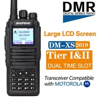 Baofeng DM 1701 Dual Band Dual Time Slot DMR Digital Tier1&2 Walkie Talkie 3000 Channels with SMS Function Portable Ham CB Radio