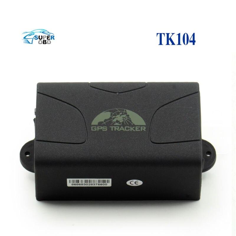 ФОТО 2017 HOT!!! GPS104 Latest Version Real Time GSM/GPRS/GPS car tracking device TK104 Standby 60 days gps tracker TK 104