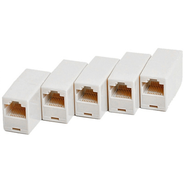 10pcs/set High Quality RJ45 Coupler Plug Network LAN Cable Extender Connector Adapter