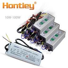 Yüksek güç LED Sürücü 10 W 20 W 30 W 50 W 100 W Su Geçirmez Aydınlatma Transformers IP67 Güç Kaynağı diy Spot Kaynağı Giriş çıkışı