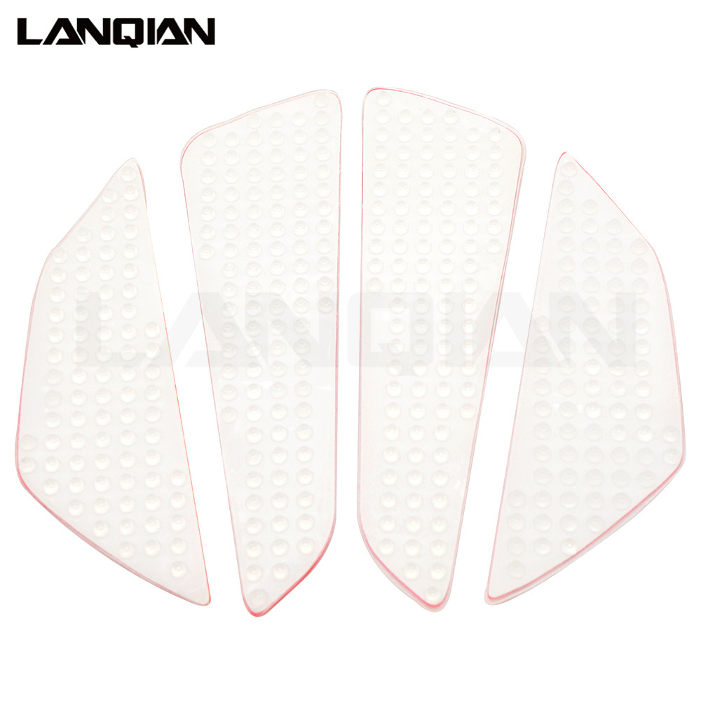 Anti slip stickers Motorcycle Carbon Fiber Tank Pad Side