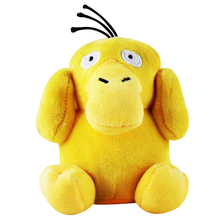 15CM Psyduck kieszeń kaczka miękki pluszowy wypchana lalka Cartoon anime zabawki dla dzieci prezent urodzinowy Brinquedos Plushie lalki dla dzieci tanie tanio Miękkie i pluszowe Zwierzęta COTTON Tv movie postaci Pp bawełna Pluszowe nano doll 5-7 lat Unisex Rysunek statua NoEnName_Null