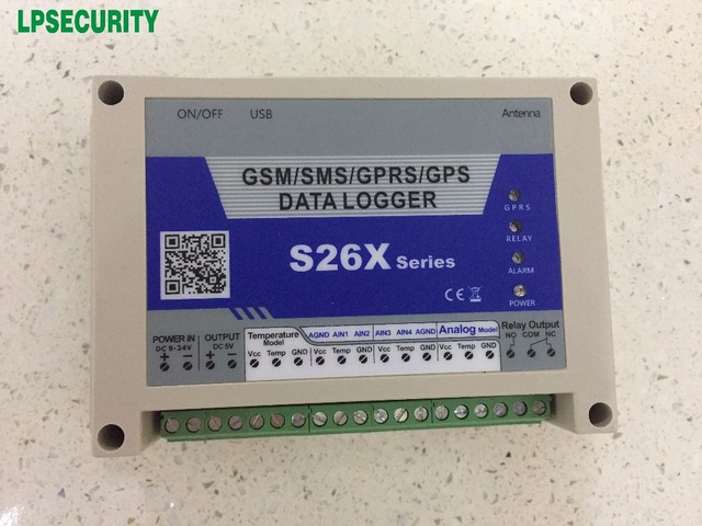 Toy Gps Data Logger : Gprs gps data logger temperature monitoring and record s with