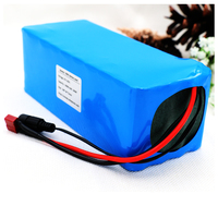 KLUOSI 36V 10Ah 600W High Power 42V Lithium ion Battery Pack with 20A Balanced BMS for Ebike Electric Car Bicycle Motor Scooter