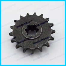 Engine Gearbox 2 strokeT8F 17T front sprocket 14 tooth pinion of clutch gear box for 47cc 49cc mini baby crosser moto dirt bike