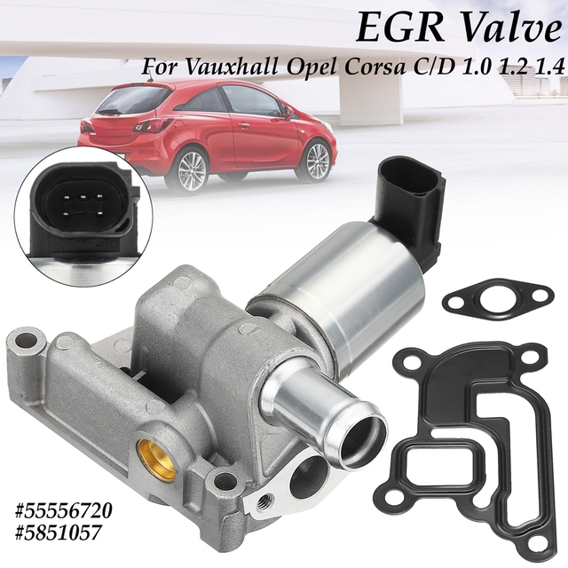 5 Pins Egr Exhaust Valve For Vauxhall Opel Corsa D 2006 2015 For