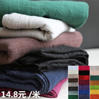 2019 New Tissus Au Metre Para Patchwork Free Shipping Hemp Chinese Artist Homeless Style Bamboo Drape Cotton And Linen Fabrics