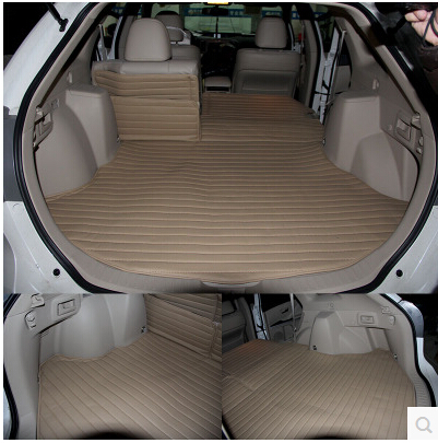 Good carpets! Special trunk mats for Toyota Venza 2013-2009 easy to clean waterproof boot carpets for Venza 2012,Free shipping
