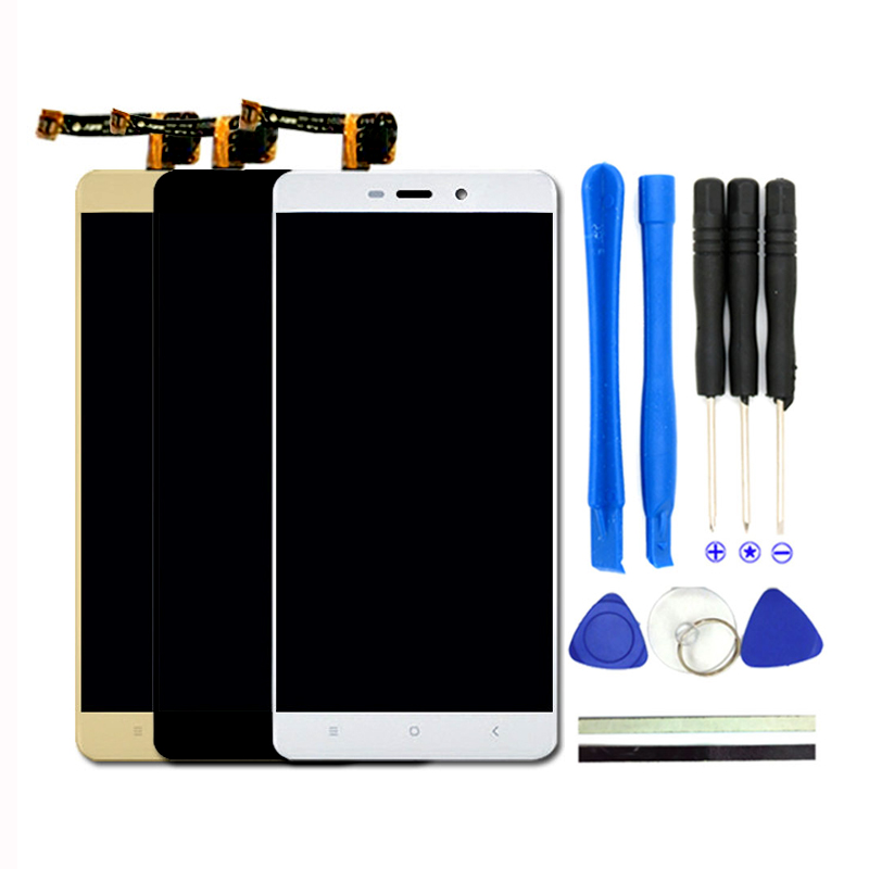 New 5 0inch For Xiaomi Redmi 4 Prime LCD Display Digitizer Touch Screen With Frame Redmi