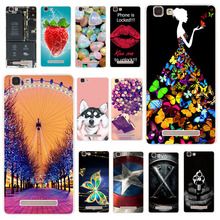 TAOYUNXI Phone Cases For Cubot Rainbow Case Silicone Cover Soft TPU Painted case bag Fundas Bumper