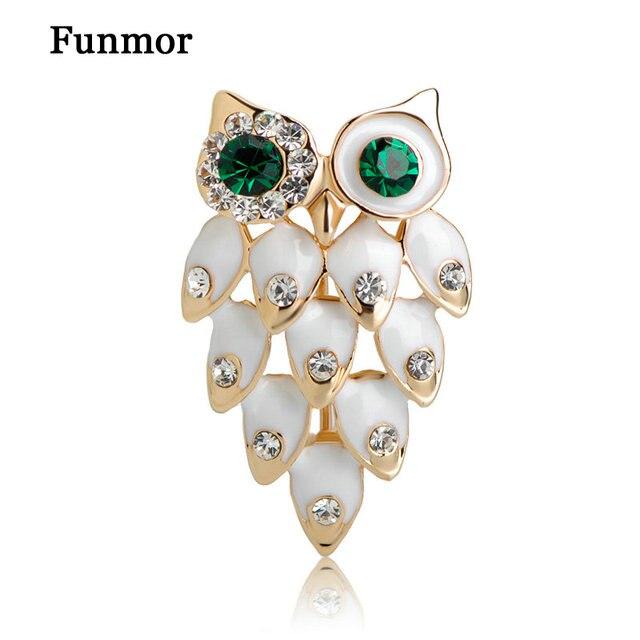 Fashion Bird Owls Brooch Enamel Brooches Bouquet Animal Hijab Pin Up  Designer Wedded Women Broach Scarf 7d2bb1d8bf7a