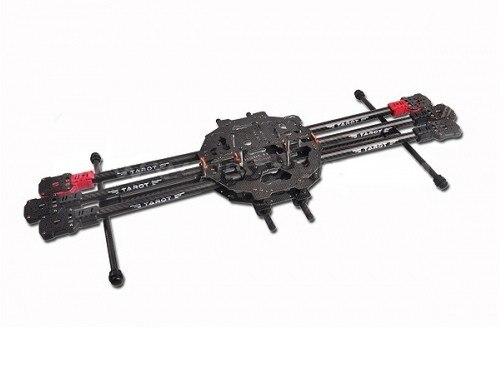 Tarot 3 K Kit FY690S ALLE Carbon metalen vouwen soort hexa helikopter hoofdframe TL68C01 - 2