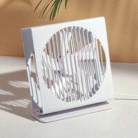 USB Desk Fan Office Quiet Metal Frame Portable Table Fan 7 Inch Dual Motor Driver Fan