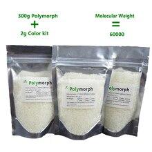300 г pcl + 2 г цвет пигмента instamorph Форма переключения вещь moldable пластиковые plastimake полиморф термопластичный для любителей