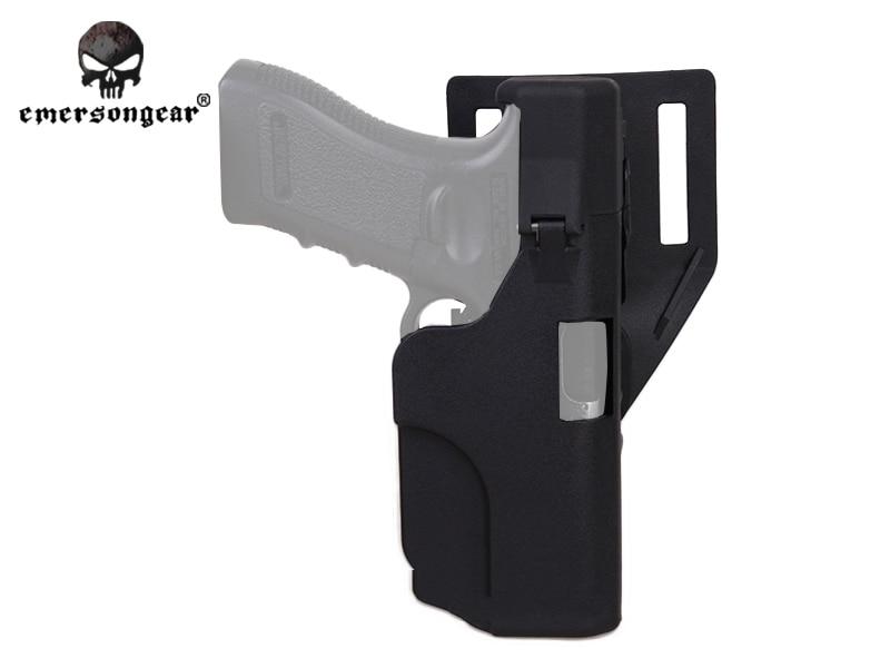 Light Bearing Pistol Gun Holster for Glock 17, 22 with Streamlight ...