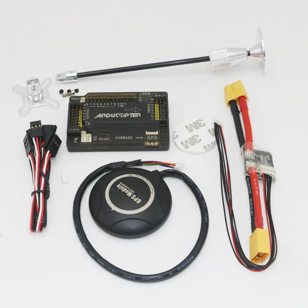 1 комплект APM 2.6 Игровые джойстики доска прямой pin + ublox-7m GPS модуль + GPS Телевизионные антенны сиденья + Мощность Модуль Кабель RC самолет Части
