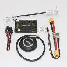 1 set APM 2 6 Flight Controller Board straight pin Ublox 7M GPS module GPS Antenna