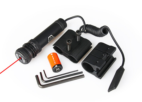 Tactical Red Laser Pointer Sight For Hunting Shooting OS20-0005