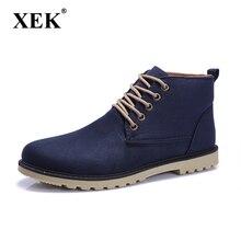 Nouveau 2016 PU En Cuir Hommes Bottes De Mode Chaud Coton Marque cheville bottes Chaussures hommes pour le Printemps Automne Hiver chaussures botas hombre