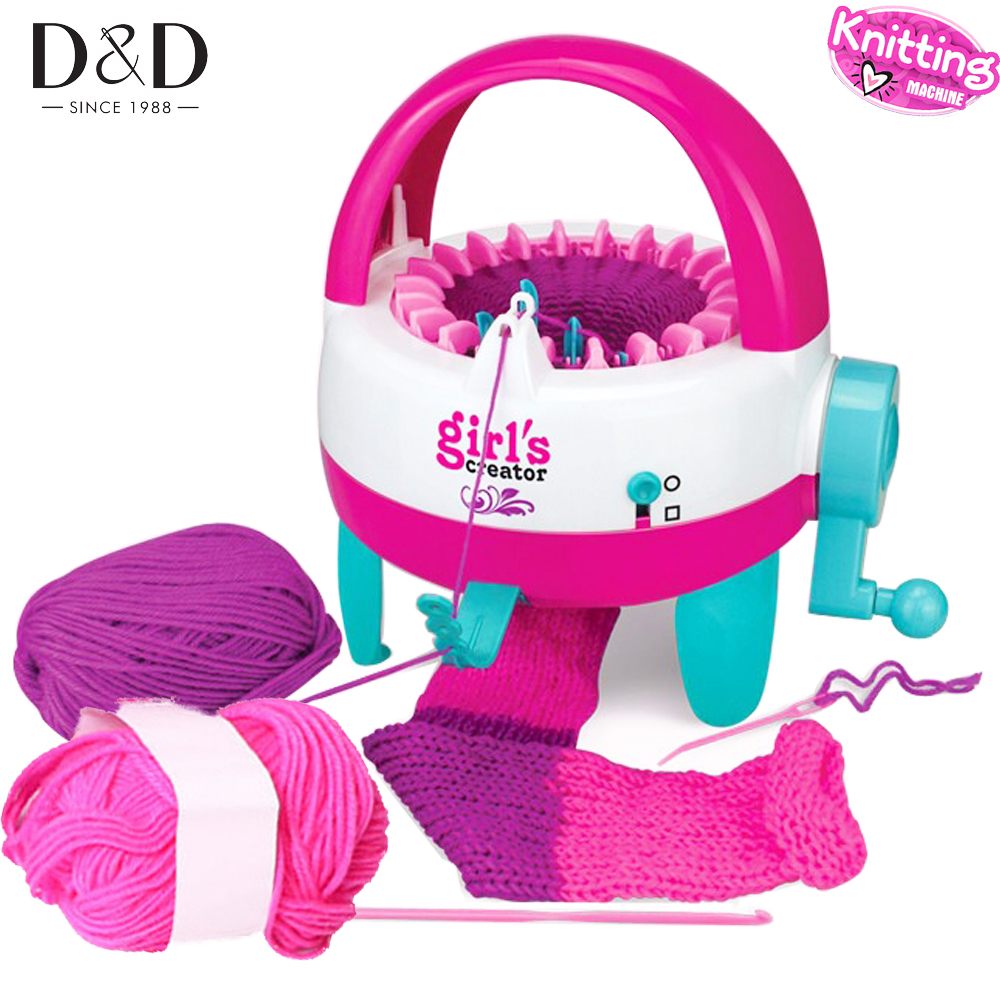 DIY Children Knitting Machine 22 Needles Hats Scarves Knitting Machine Board Weaving Loom Educational Toys Christmas