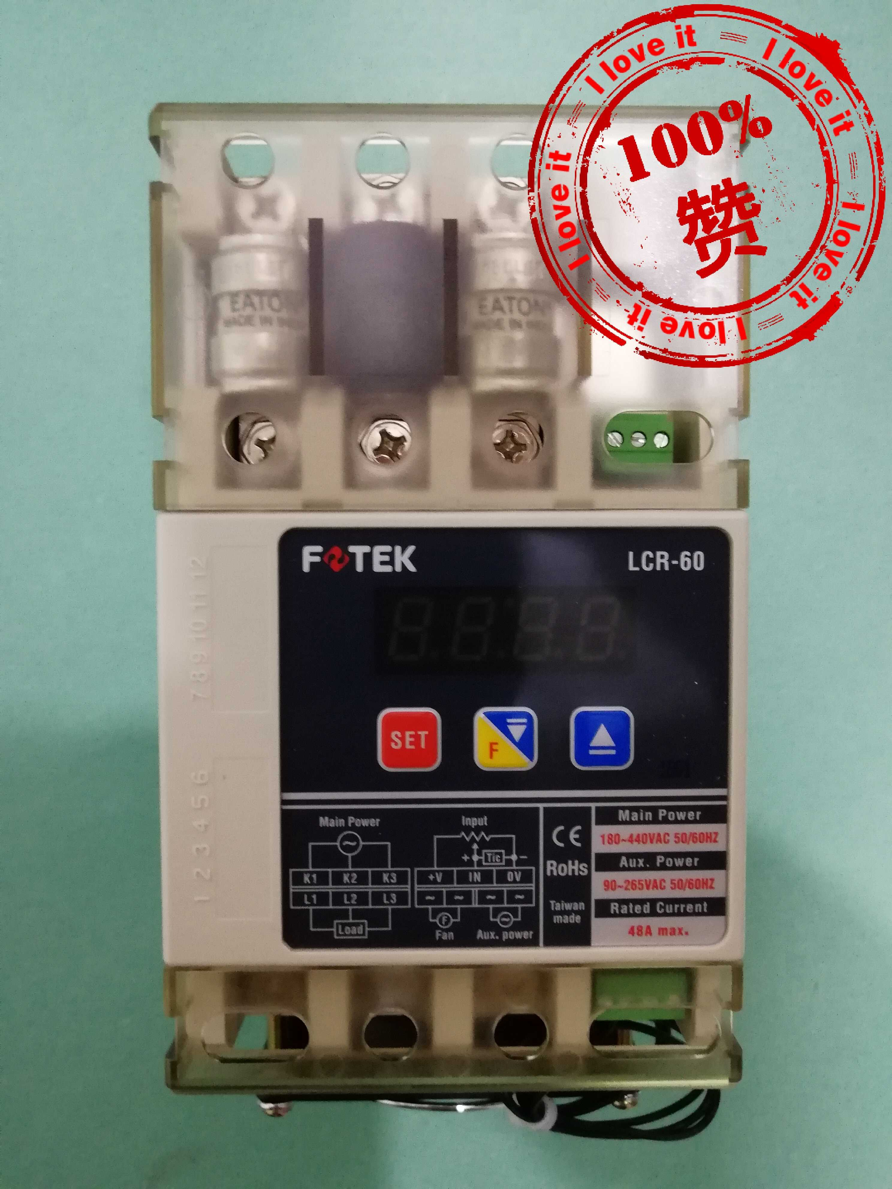 100% New Original Three-Phase Solid State Relay LCR-60100% New Original Three-Phase Solid State Relay LCR-60