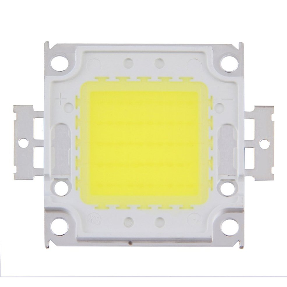 2 PCS 100W LED SMD Chip Bulbs High Power With Waterproof LED Driver Supply diy kits p10 outdoor single yellow led panel 4 pcs 1 pcs led controller 1 pcs jn power supply led display screen all cables