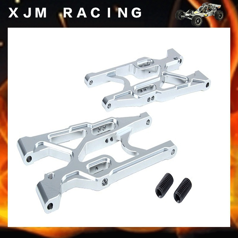 Rovan LT CNC metal rear suspension arm set fit losi 5ive-T parts losi 5ive t hd billet rear hub carriers