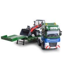 met Bulldozer Combinatie Tractor