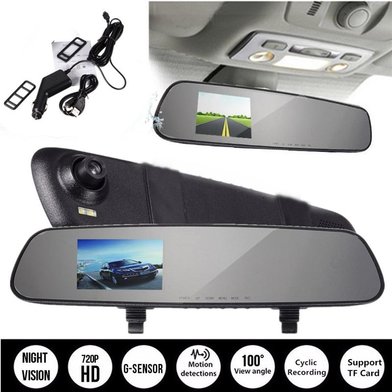 2.4 Inch 720P HD TFT Car DVR Vehicle Camera Lens Video Recorder Dash Cam G-sensor Night Vision Parking Video Recorder 3