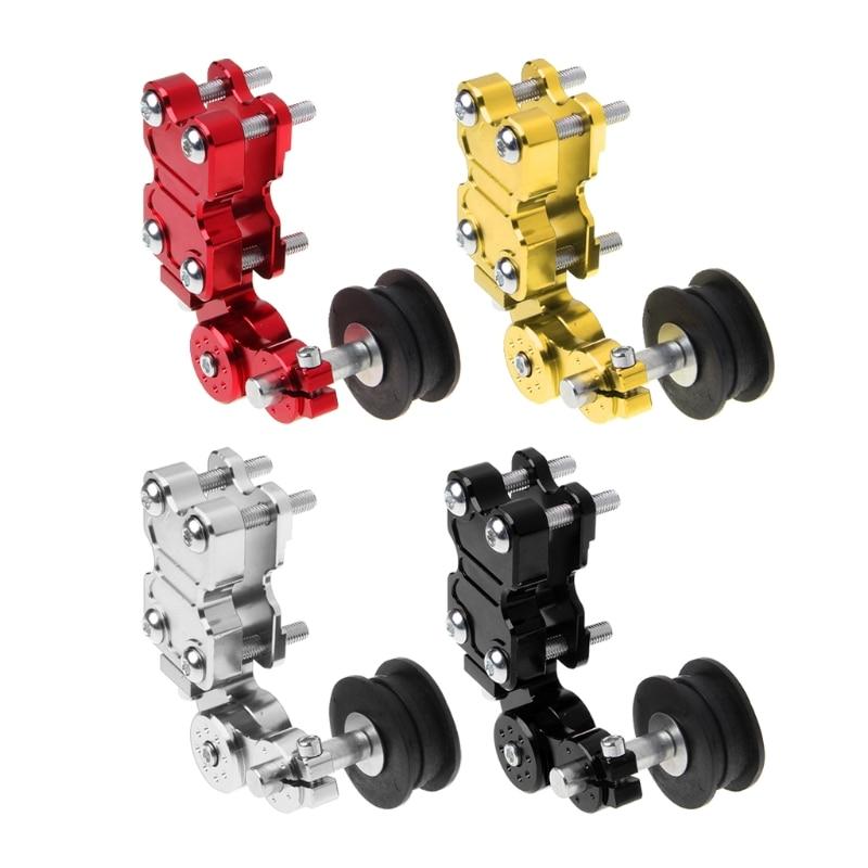 NEW Motorcycle Aluminum Roller Adjuster Chain Tensioner For Dirt Pit Bike ATV