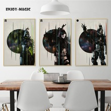 Home Decor Canvas Poster destiny Painting Living Room Wall Art Modern 5 Piece Oil Painting Picture Panel Print B-052