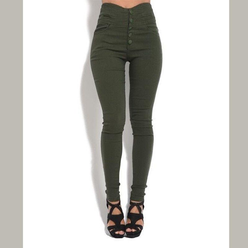 New Women Full Length Casual Harem Pants  Skinny Trousers Leggings UK SIZE 6-14
