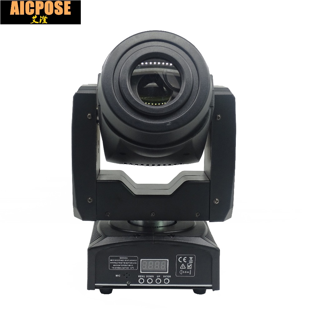60W LED Moving Head Light 3 Face Prism Spot Light with Rotation Gobo Function for DJ Disco Stage Projector Dmx 4/15 Channels
