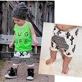 Summer Boys Cotton Harem Pants Bloomers Modern cute Cactus Striped Cross Print Baby /Toddler Kids /Baby Girl  Short Pant
