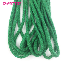 Cotton Cord Rope Drawstring Craft Decorative Colored 5mm Home 14 for DIY 5meter-Length