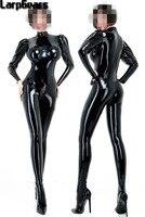 Латексный комбинезон/купальник сексуальный женский латексный боди 3D грудь 100% ручной работы