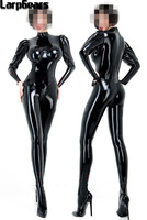 Latex Catsuit Leotard Sexy Women S Latex Bodysuit 3D Breast 100 Handmade