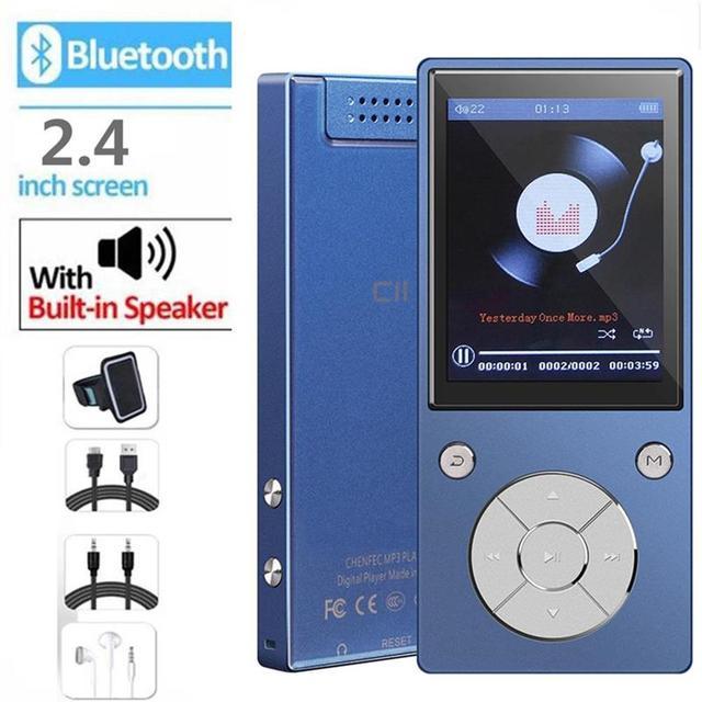 Bluetooth4.2 MP3 音楽プレーヤー内蔵スピーカーと 2.4 インチ TFT スクリーンロスレスサウンドプレイヤー、 SD カードまでサポート 128 ギガバイト