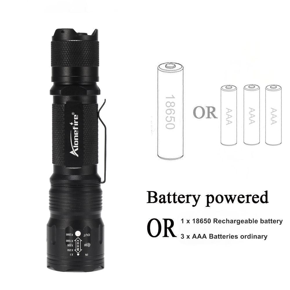 TK105 V6 LED flashlight (16)