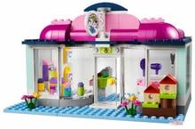 Pogo Lepin BELA 10171 Friendseries Heart Lake Petalon Girls Friends Building Blocks Bricks Toys Compatible Legoe