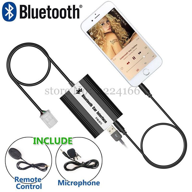 Image 4 - SITAIEL автомобильный Bluetooth A2DP MP3 музыкальный плеер адаптер для toyota, lexus, Scion AUX зарядка через usb Handsfree Bluetooth Автомобильный Стайлинг-in MP3-плеер для авто from Автомобили и мотоциклы