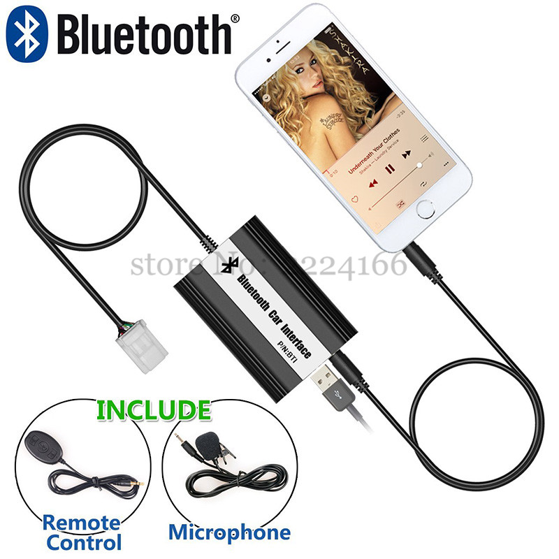 Image 4 - SITAIEL Car Bluetooth A2DP MP3 Music Player Adapter for Toyota Lexus Scion AUX USB Charging Handsfree Bluetooth Car Styling-in Car MP3 Players from Automobiles & Motorcycles