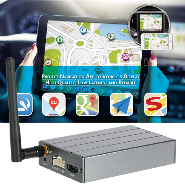 US $33 44 28% OFF|MiraScreen Car WiFi Display Dongle Mirror HD Box Airplay  Miracast DLNA GPS Navigation Car For Android Phone Tablet Pad TV Antenn-in