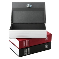 Dictionary Secret Book Money Hidden Secret Security Safe Lock Cash Money Jewellery Locker Box Free Shipping