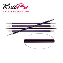 1 piece Knitpro Zing 20 cm double pointed knitting needle