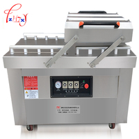Automatic Business Vacuum Food Sealers Double Chamber Vacuum Dry Wet Vacuum Sealed Baking Sealing Machine Stainless