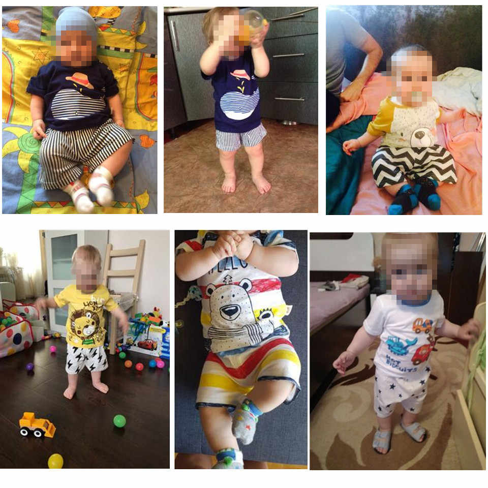 Conjuntos de ropa para bebés, uniforme de béisbol, 2 unids/set, ropa para niñas, ropa interior de algodón infantil de manga corta de ballena azul de dibujos animados