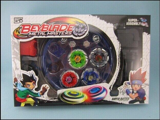 Бесплатная доставка! классические игрушки волчок гироскопа beyblade металл fusion 4 beyblade для продажи сплава гироскопа пластины комплект beyblade наборы
