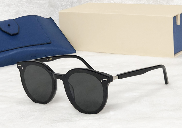 Qualität Fall Sonnenbrille Sanfte Black Hohe Frauen Runde Polarisierte Peck Mond Vintage Männer Mit silver Osten Original 2019 Gregory UXgqZnzn